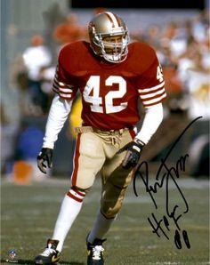 071670ff4 Ronnie Lott San Francisco 49ers Autographed 8