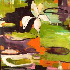 Lotus IX by Flora S. Bowley