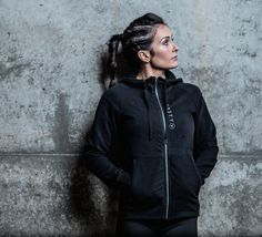 Black Knight Hoody by Nasty Lifestyle. Get yours today! Crossfit Clothes, Fitness Apparel, Hoody, Knight, Hooded Jacket, Women Wear, Spring Summer, Gym, Running
