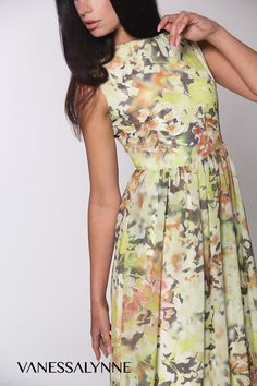 "Our ""Elissa"" Print Maxi Floral Dress available now www.vanessalynne.com"