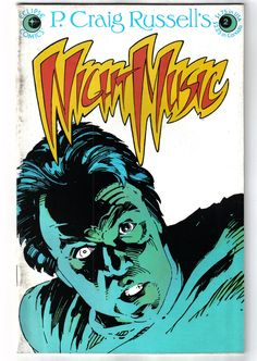 P. Craig Russell's Night Music #2 February 1985 Eclipse Vintage Comic Book by GoddessOfCaffeine on Etsy