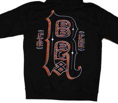 REBEL8 RFFR Men's Zip Hood Black