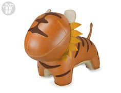 Zuny Series Tiger (Mateo) Tan Animal Bookend (*Amazon Partner-Link)