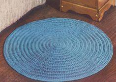 Circular Rug – Free Crochet Pattern