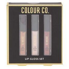 Colour Co. Lip Gloss Nude 3x 7ml
