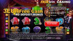 3,- Euro free as new customer at noxwin (no deposit)