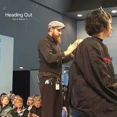 @thehairbender on Main Stage @HairExpo during the presentation of Heading Out Hair & Beauty's FUSION & The CRUDA FIGURA collections.  Photo Credit: Stella Park  #hairexpo2016 #hairexpo #ahfaaustralianhairdresseroftheyear #headingoutacademy #hohb_aus #caterinadibiase #melbournehairdresser #avantgardehair #hairart #hairinspiration #saloneducation #fusion #theCrudaFigura