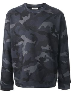 Valentino Camouflage Sweatshirt - Cumini - Farfetch.com
