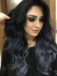 • Charcoal Hair • Tendência para um visual estiloso. Aposte!