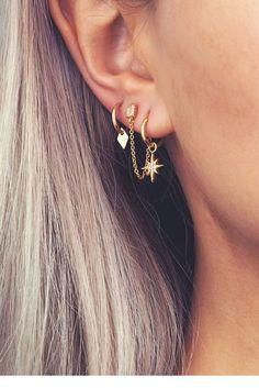 Nez anneau oreille cerceau tragus Helix cartilage boucles d/'oreilles cris Wx