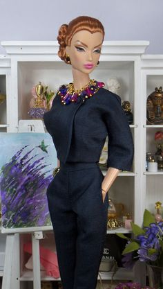 Dark Celeste for Silkstone Barbie and Victoire by MatisseFashions