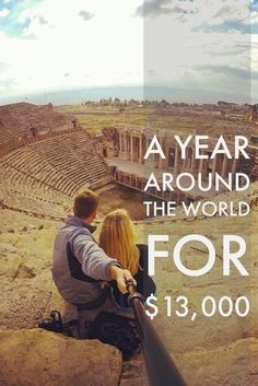 Wondering how much it will cost to travel around the world? We managed to travel around the world for $25,000 as a couple. OR Less than $13,000 per person. Read on to find out how we visited 19 countries around the world.