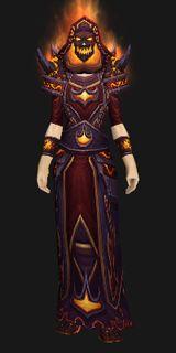 Firelord's Vestments (Lookalike) - Transmog Set - World of Warcraft