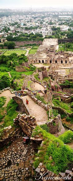'Golkonda's an ancient, ruined city in Hyderabad'