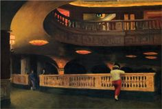 Sheridan Theatre - Edward Hopper 1937