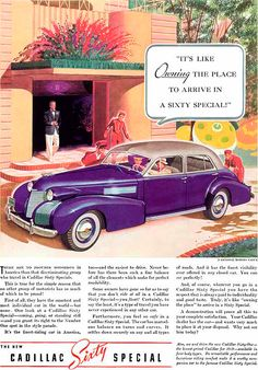 Cadillac Ad 1938  -  Jon Whitcomb