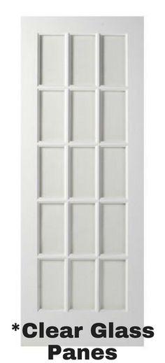 15 Lite French Door (Primed)