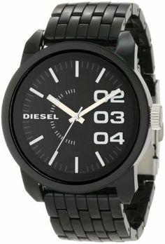 3006ce10f70 Diesel Men s DZ1523 Color Domination Black Watch Diesel.  129.00