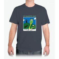 St Paddy's Day Polaroid snap - Mens T-Shirt