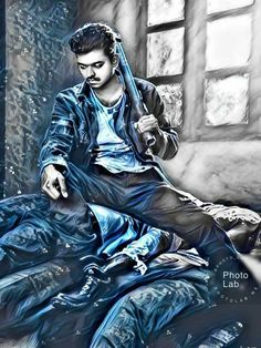 Hd Wallpaper 4k, Photo Wallpaper, Actor Picture, Actor Photo, Drawing Designs, Designs To Draw, Actors Images, Hd Images, Mersal Vijay