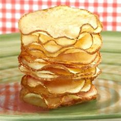 Homemade Potato Chips Recipe and Video