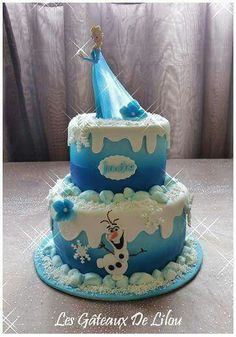 Elsa cake frozen cake