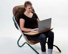 Cadeira Feita de Carrinho de Mão por Sascha Urban e Dorthea Wirwall | Recicla e Decora
