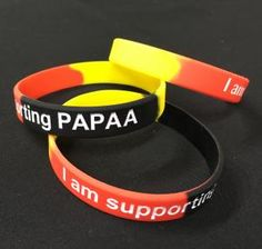 Psoriasis and psoriatic arthritis awareness wristbands, to support and help PAPAA http://www.papaa.org/news/new-awareness-products-available