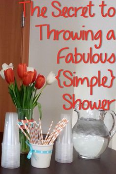 4 Secrets to Throwing a Fabulous and Simple Shower - Baby Shower Decors Shower Time, Shower Party, Baby Shower Parties, Baby Shower Gifts, Baby Showers, Bridal Showers, Baby Wedding, Wedding Ideas, Wedding Advice
