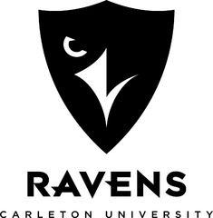 Carleton Ravens Primary Logo (2013) -