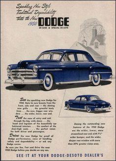 171 best dodge 1950 1955 images on pinterest antique cars 1950 dodge coronet special deluxe 4 door sedan publicscrutiny Choice Image