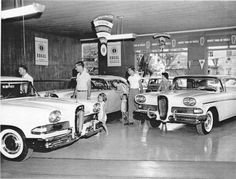 """I got my dad to test drive one of these just so I could get the free Edsel promo model car they were giving away! Thanks dad, a GM guy. The following year he purchased a """"Wide-Track"""" Bonneville hardtop. Yeah!!"""