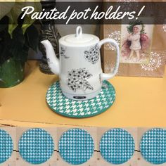 Chalk Paint:tm: everything!  Dishes, furniture, walls, knobs, and anything else you can imagine.