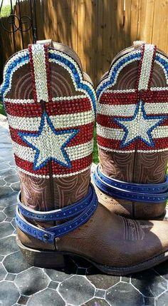 Jacqui bling swarovski cowgirl boots