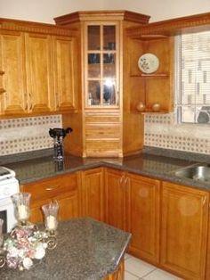 Desayunador en madera buscar con google cocina pinterest madera buscar con google y - Muebles de cocina esquineros ...