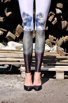 Two-pattern leggings