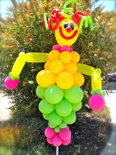 Clown Party Balloon