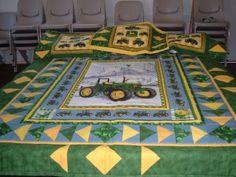 John Deere Quilts | Quilts and paternal I like | Pinterest | Hand ... : john deere quilts - Adamdwight.com