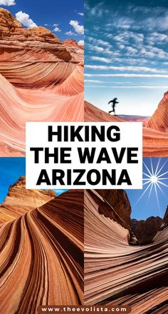 The Wave in Arizona needs to be on your hiking bucket list. How to win the Wave Lottery | Tips to get a Wave permit | The Wave hike | Must-know tips for the Wave Arizona hike | Coyote Buttes Arizona | Bucket list hikes USA | Best USA hikes | Hiking USA | Best hikes in the USA | Arizona hiking | Best Arizona hikes | Best things to do in Arizona |Things to do near Zion National Park | Things to do near Page Arizona | Permit hikes | Hiking permits #thewave #arizona #USA #hike #hiking #hikingusa