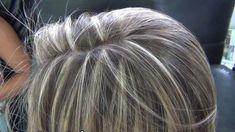 mechas acinzentadas em cabelos escuros - Pesquisa Google