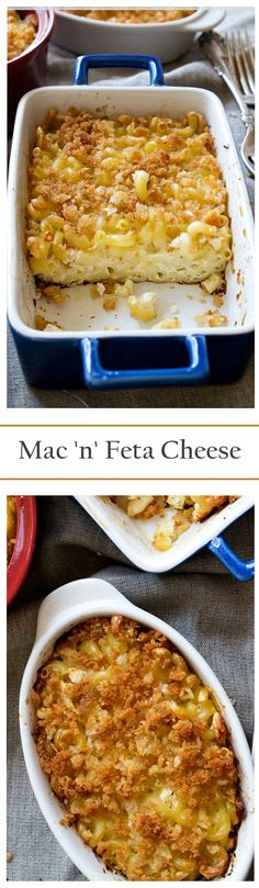 Everyone's favorite Mac 'N Cheese made BETTER! Everything is betta with Feta!