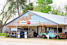 #Old Mercantile Store #Hill Country in Texas