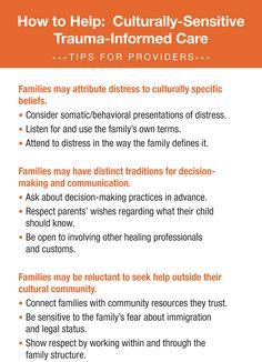 Culturally sensitive trauma-informed care