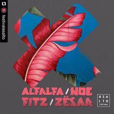 #Repost @festivalasalto  Juntos pero no revueltos Alfalfa Fitz Noe y Zësar realizarán en el #decimoasalto un gran mural en un barrio de Zaragoza que comenzó a ser  asaltado el año pasado  #art #zgz #streetart #urbanart #igerszgz