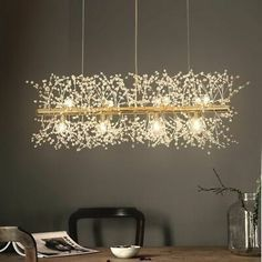 Dining Chandelier, Cheap Chandelier, Dining Room Lighting, Chandelier Pendant Lights, Chandelier Creative, Crystal Pendant Lighting, Luxury Chandelier, Modern Chandelier, Deco Led