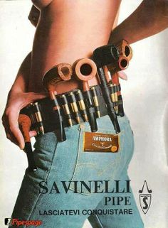 No doubt, this advert inspired me to buy many a Savanelli!