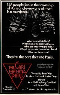 The Cars That Ate Paris...a 1974 horror comedy directed by Peter Weir...such a strange little film.