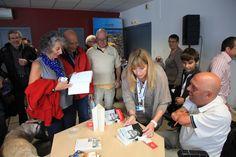 Salon nautique du Cap d'Agde : conférence Philippe Croizon © Laurent Uroz