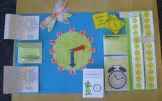 Mathelandschaft: Lapbook zur Uhr: Das Experiment
