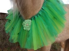 Lucky Tulle Necklace for Horses or Ponies  Equine by MyBuddyBling